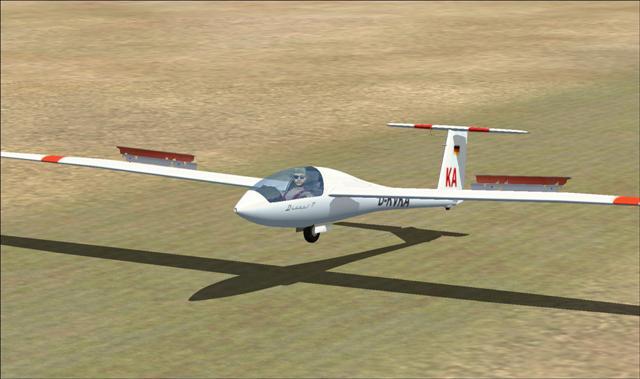 Discus T landing
